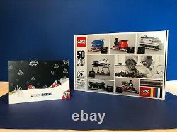 Lego Employé Cadeaux De Noël Trains 50 Ans Sur La Voie 4002016 Aveccard