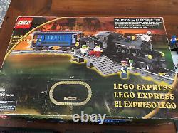 Lego Express Train (4534) Plus Voies Supplémentaires 90 Piece 9v Lot