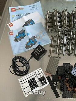 Lego Grand Moteur De Train Du Charbon Tendre # 10205 Withmotor 9v 317 Noir + 57 Voies Ferroviaires Pièces