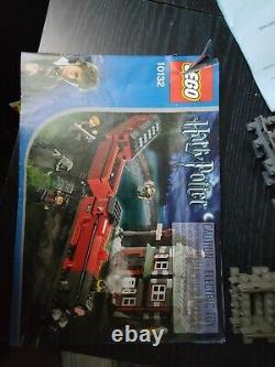 Lego Harry Potter 10132 Train Rare Hogwarts Express Motorisé Avec Voies Bonus