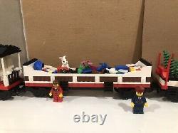 Lego Holiday Train & Tracks W Motorized Unit 10173 W Inst, 7895, 7896 Etc Pas De Boîte