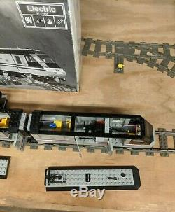 Lego Legend Metroliner 9v 10001 Presque Complet Avec La Boîte, Les Pistes, Et Instructions
