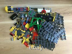 Lego Lego City Cargo Train Tracks 7939 95% Complet Viennent Dans La Boîte D'origine
