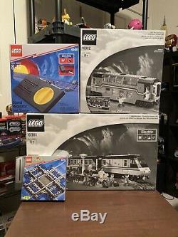 Lego Metroliner Et Clubcar Vintage Set Rare Du Régulateur De Vitesse Sur Piste