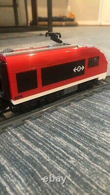 Lego Motorized Passenger Train + Extra Track (lego Set #7938 + #7895)