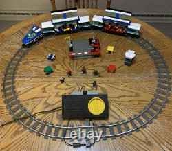 Lego Railway 4561 Express Electric Train Set No Box. Lego Ensemble 4561. Toutes Les Pistes