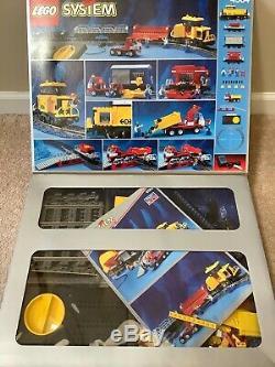 Lego Set # 4564 Fret Ferroviaire Runner Train Avec Set Vrac Supplémentaire Piste