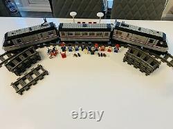 Lego Train 4558 Metroliner Complete Vintage Classic 9v Track 1991