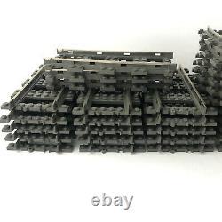 Lego Train 9v Lot Régulateur Adaptateur De Voie Droit Interrupteur Courbé Traverses