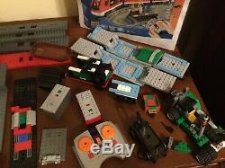 Lego Train Lot 7898 10219 10173 10194 60020 7988 D'occasion Nib Avec Mise En Page Piste