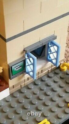 Lego Train Station 7937 7938 60050 70197 Double Voie Personnalisée, Triple Plate-forme