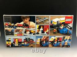 Lego Train Steam Cargo Train, #7722, Box, 4.5v, 1985, Complete Withextra Track