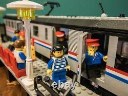Lego Trains 9v Metroliner (4558) Avec Voie Supplémentaire