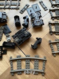 Lego Vintage City Train Set Avec Piste, Moteur Et Pièces