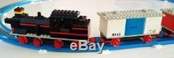Lego Vintage Train 720 Avec Moteur Électrique 12v Avec Toutes Les Pistes, Rare