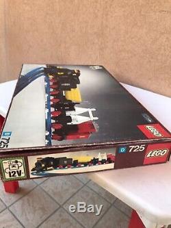 Lego Vintage Train 725 Train De Marchandises 12v Et Nouvelle Piste 1974