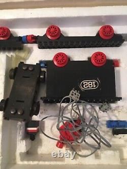 Lego Vintage Train Sets Lot 182 183 Blue Tracks Grey Electric Switches Cross