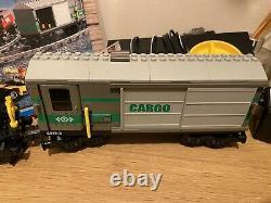 Lego World City 4512 Cargo Train Set (track Is Included) Voir La Description