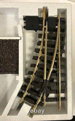 Lgb # 19901 Set De Trace De Train Avec Tampon Stop Neuf En Boîte Livraison Gratuite