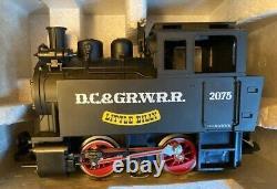 Lgb 20701 Nouveaut Dans La Box, Complet Aveccontrôleur & Track, D. C. & Gr. W. R. Ensemble De Trains