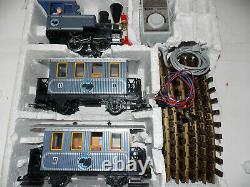 Lgb 22301 Lake George & Boulder Train De Voyageurs Avec Voie Et Transformateur