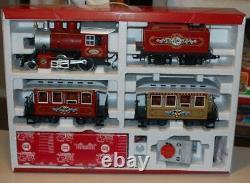 Lgb G Échelle 72325 Train De Noël Ensemble Locomotive À Vapeur, Appel D'offres, Voitures, Voie Ex