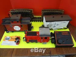 Lgb La Florsheim Echelle G Train Tracks Transformer Vgc Rare Untested