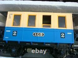 Lgb Le Big Train Starter Train Train Set Engine, Cars, Trackswithbox