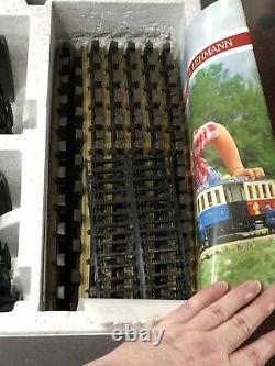 Lgb Marshall Fields Train Set Nouveau 20534 Mf 1986 Vtg Track Transformer Wire Rare