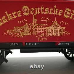Lgb Noël 150 Anniversaire Jahre Deutsche Gisenbahn Nurnberg Train Set Track