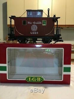 Lgb Train De Voyageurs Plus Extra Voitures & Track Le Big Train