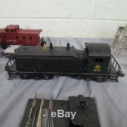 Lionel 027 Gauge Train Trainmaster Transformateur 70 Sections De Voie 610 Moteur +