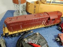 Lionel 1950 Après-guerre Train Lot # 2028, 6436, 6311, 6257 + Pistes Et Plus