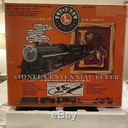 Lionel # 6-21976 Flyer Centennial 027 Train En Boîte Originale Avec Piste Supplémentaire