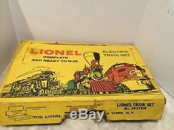 Lionel Chars De Train Dans Une Boîte Avec 2037 Moteur, Etc. Travail