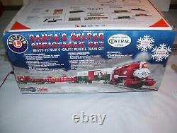 Lionel Npc Santa's Helper Christmas Train Set #82545 With Sounds - Rc (no Track)