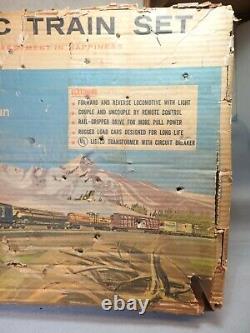 Lionel O Gauge #11540 Train De Marchandises De Locomotive À Vapeur, Complet, Nouvelle Voie