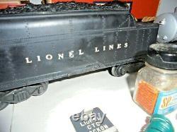 Lionel O Gauge Ensemble De Trains Vintage D'après-guerre Avec Des Pistes