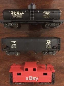 Lionel Oo Train Haut Détail 3 Rail Avec Des Boîtes Originales Et Piste Prewar