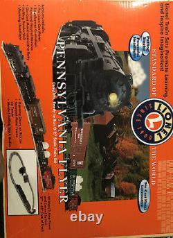 Lionel Pennsylvania Flyer Train Mis 6-31913, O-27 Scale. Pistes Supplémentaires Incluses