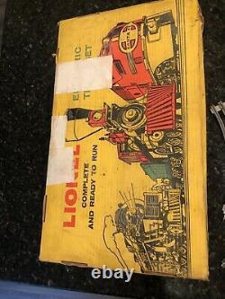 Lionel Postwar 1613s 6 Piece B&o Steam Freight Train Set Avec Tracks & Transformer
