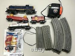 Lionel Santa Fe Freight O Échelle Model Train Set Boîte D'origine, Transformateur, Voie