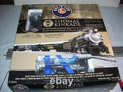 Lionel Thomas Kinkade Christmas Train Set #81395 Avec Sounds & Rc (no Track)