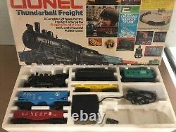 Lionel Thunderball Freight 027 Gauge Train Set (pas De Voie)