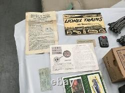 Lionel Trains Set 1513s Décodeurs D'origine Piste Paperasserie Transformateur Postwar