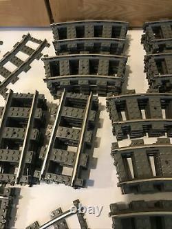 Lot De 75 Lego 9v 2865 2867 2861 Voies Ferrées En Très Bon État Testé