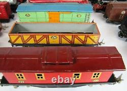 Lot Of Vintage 1930 Lionel O Gauge Train Set- Moteurs, Voitures, Transformateurs, Pistes