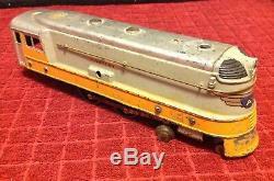 Lot Rare Vintage American Flyer Hiawatha Moteur Observation Train Piste Afl