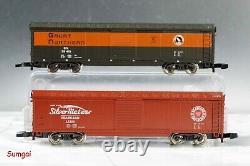Märklin 81466 American Freight Train Starter Set Track, Trafo, Bâtiments Nouveaux