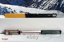 Märklin Deluxe Southern Pacific Train Starter Set Piste, Contrôleur, Bâtiments